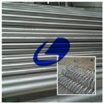 Titanium seamless pipe and tube