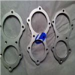 Automobile gr2 titanium exhaust flange